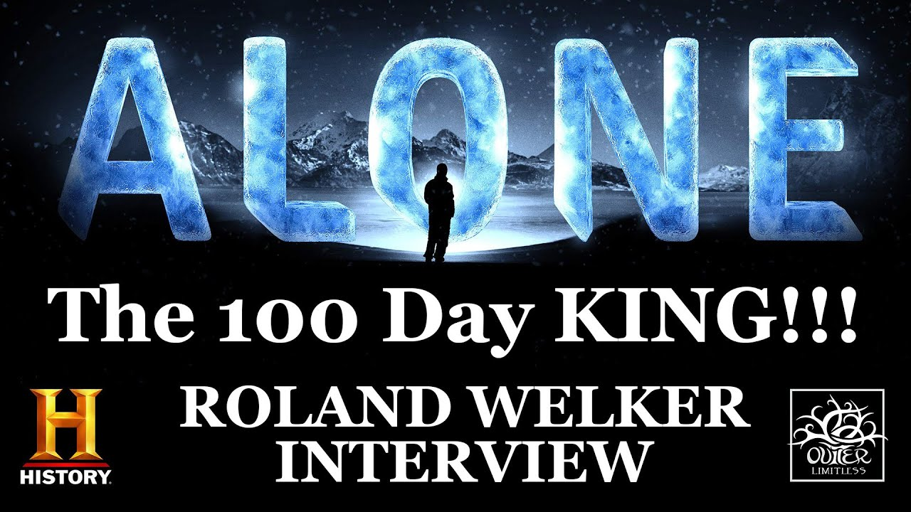 """Download Alone Season 7 Champion: Interview with Roland Welker - """"The 100 Day King""""!"""