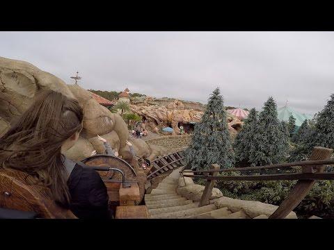 Seven Dwarfs Mine Train Roller Coaster 60fps POV On-Ride Magic Kingdom Walt Disney World GoPro