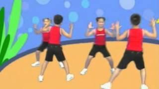 健康操1~3年級連續動作