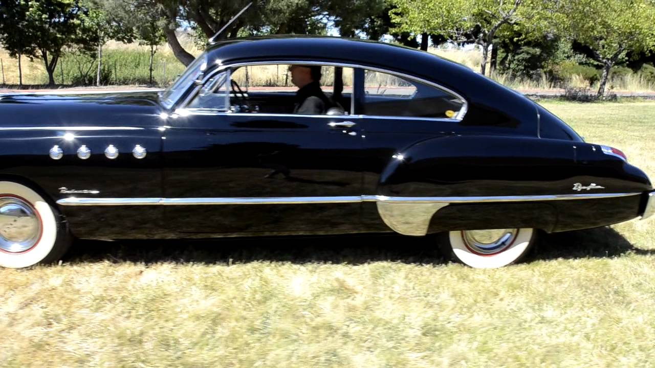 1949 buick roadmaster sedanette stock f1098 youtube. Black Bedroom Furniture Sets. Home Design Ideas