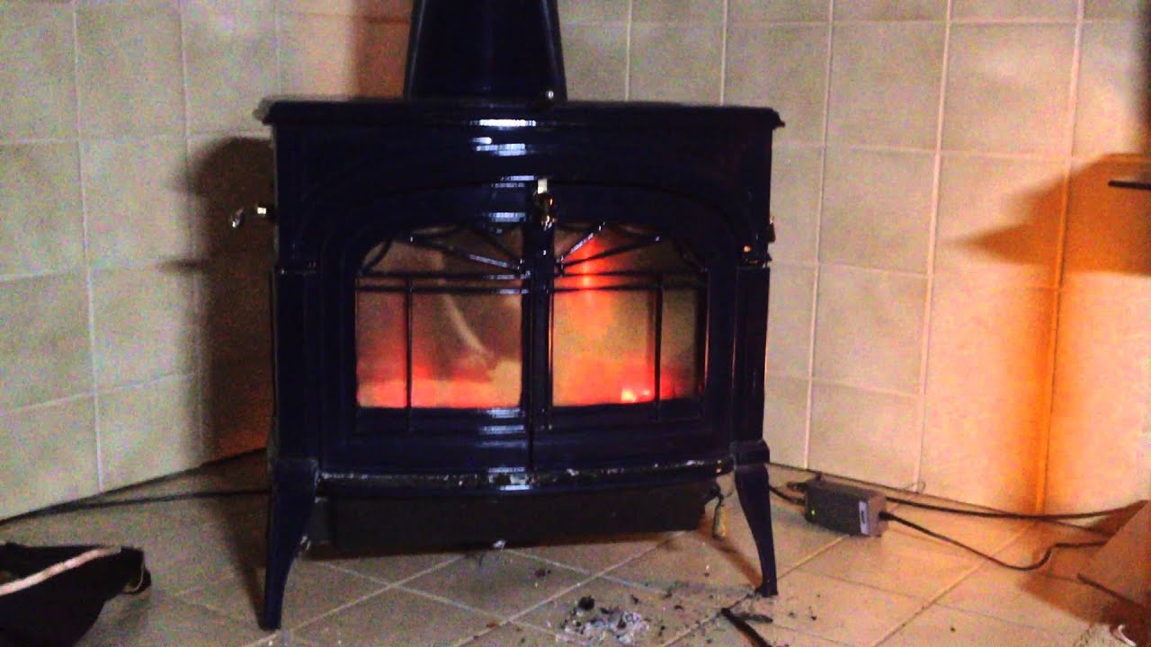 vermont castings defiant encore wood burning stove youtube
