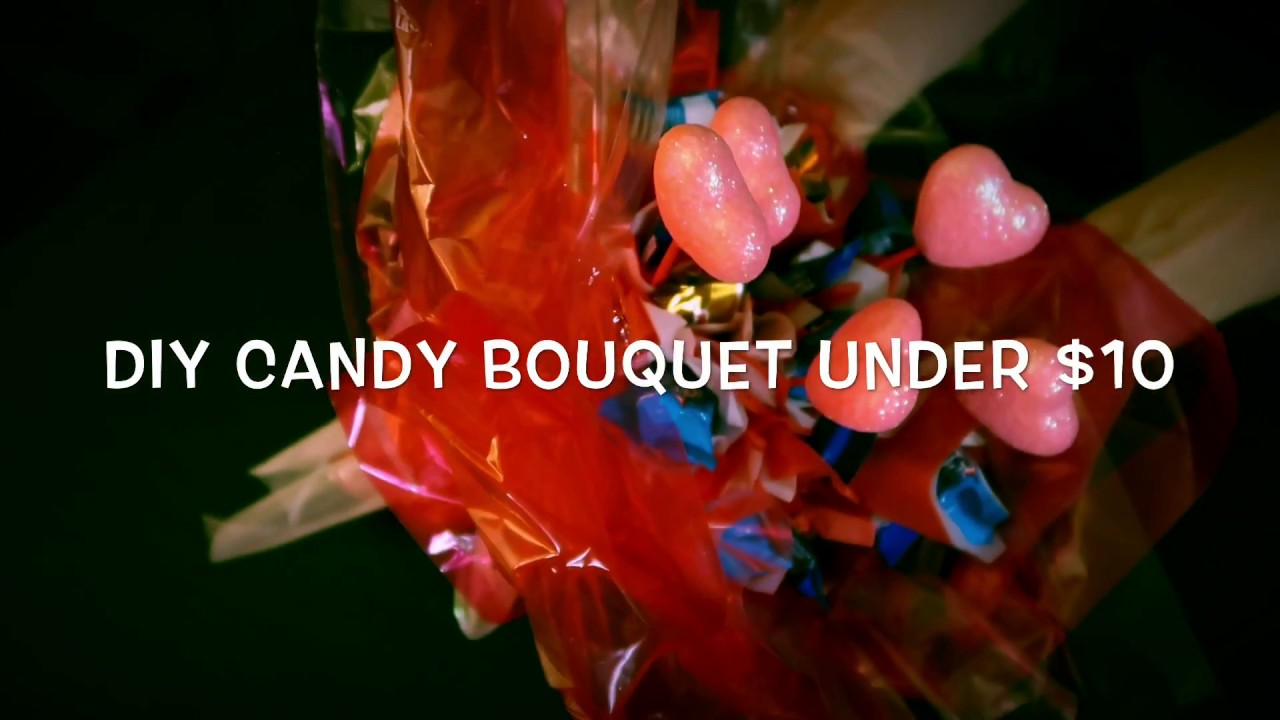 Diy Glowing Candy Bouquet For Valentine S Day Under 10 Youtube