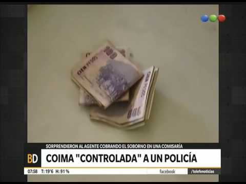Download Cobraban coimas dentro de la comisaría - Telefe Noticias