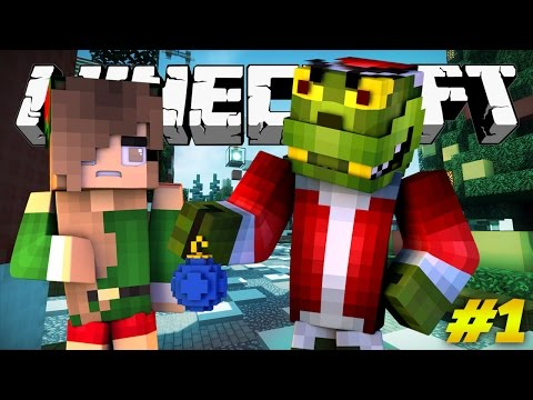 Saving Christmas - GRUMPY GRINCH (Minecraft Roleplay) #1
