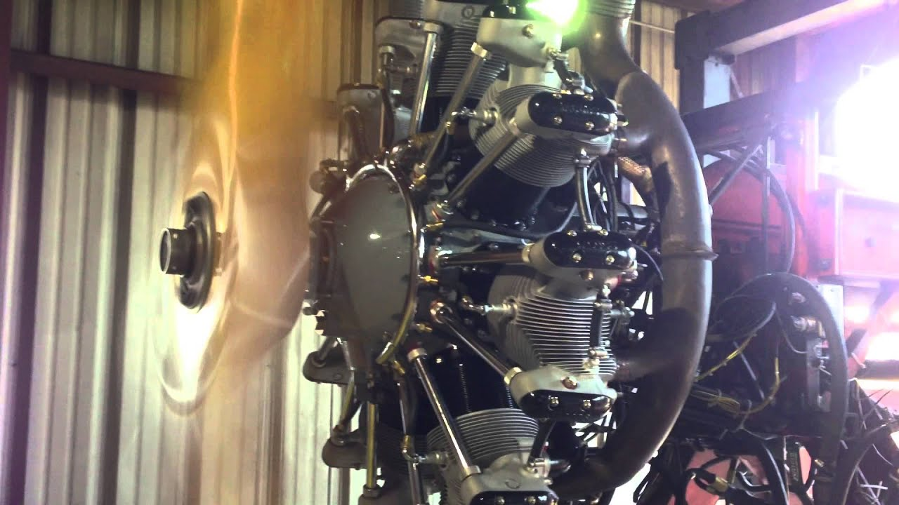 Cessna 195 Jacobs Radial Engine Bench Test Air Repair Inc