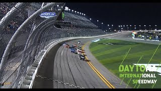 Harvick holds off gaggle to win first Gander RV Duel at Daytona