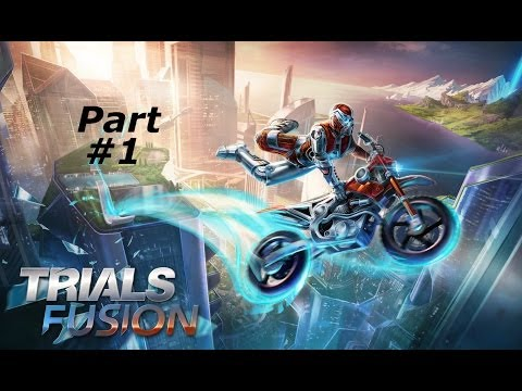 Trials Fusion Gameplay Walkthrough Part 1-Futuristic Racing (XBOX ONE Gameplay)