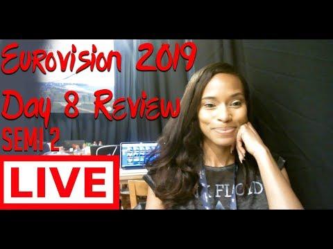 LIVE: Eurovision 2019 Day 8 Recap w/Alesia Michelle