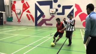 Ahlulbayt FC vs The Mighty Reds at The Ibni Indoor Football League