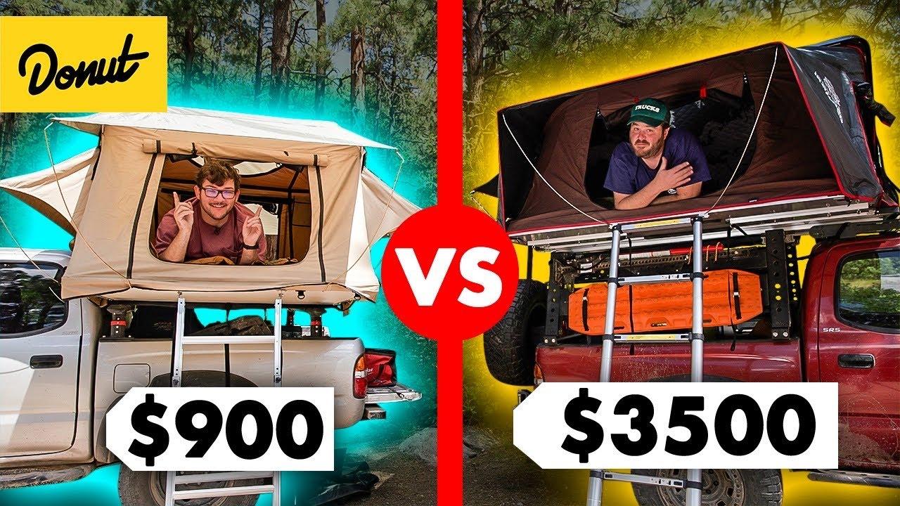 Download $900 vs. $3500 Roof Top Tent