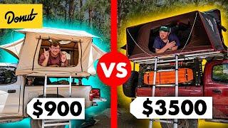 $900 vs. $3500 Roof Top Tent