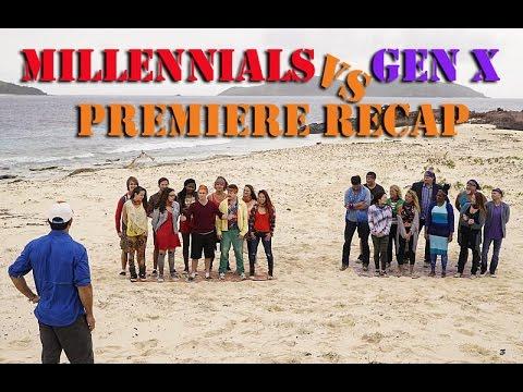 Survivor Season 33: Millennials vs Gen X PREMIERE Recap