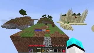 Minecraft Survival Haritası Gökyüzü Adaları Bölüm 1