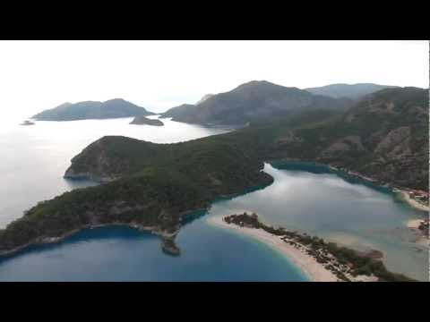 Paragliding above the Aegean Sea - Ölüdeniz, Turkey