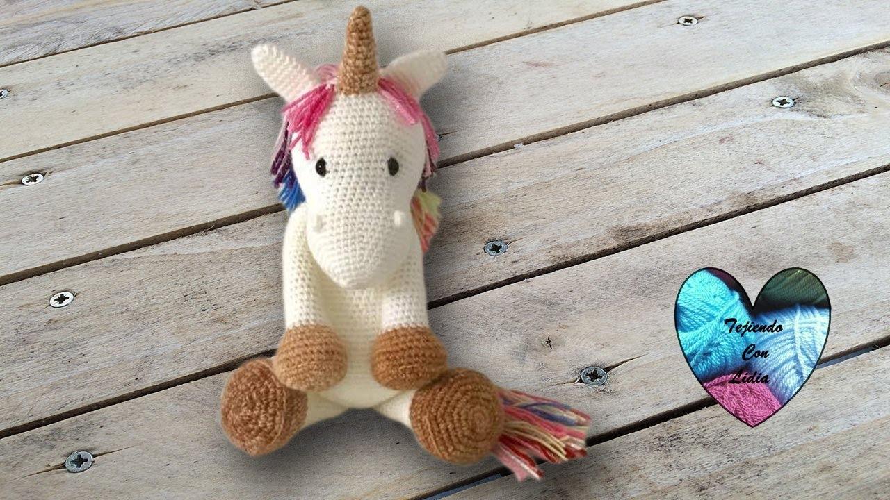 Unicornio | Amigurumi patrones gratis, Amigurumi unicornio ... | 720x1280