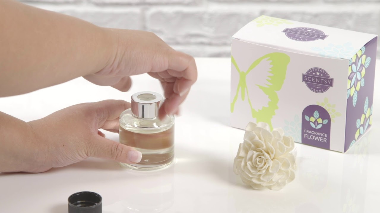 Scentsy Fragrance Flower - How To