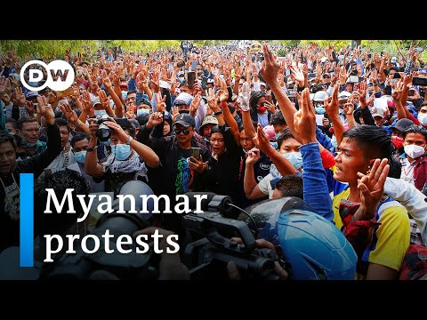 Myanmar protesters undeterred by deadly police violence | DW News