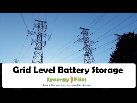 """Grid Scale Battery Storage"" for the era of Renewable Energy"
