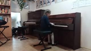 Гончаренко Злата ДМШ 16 открытый урок по фортепиано