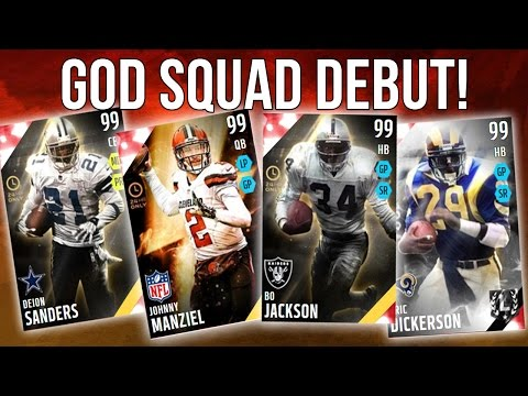 Madden 16 Ultimate Team :: God Squad Debut! ::-XBOX ONE Madden 16 Ultimate Team
