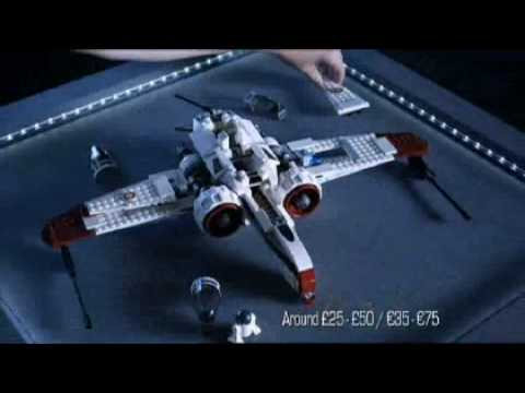 lego star wars arc 170 starfighter 8088 toys r us youtube. Black Bedroom Furniture Sets. Home Design Ideas