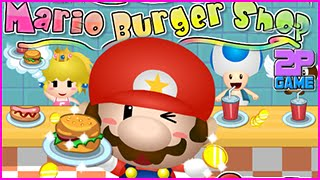 Mario Burger Shop Walkthrough