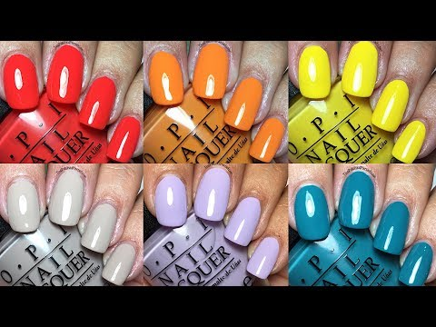 OPI Spring Summer 2017 FIJI Collection | The Polished Pursuit