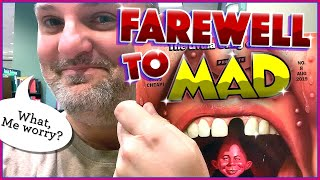 A Farewell to MAD Magazine  |  #madmagazine