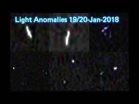 nouvel ordre mondial | Light Anomalies in Australia sky - 19/20th January 2018