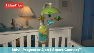 Fisher-Price Móvil Proyector 2 en 1 Smart Connect