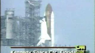 CNN Coverage of The STS-68 Launch Pad Abort Part 1