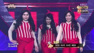vuclip 141227 HyunA + Gag Woman - RED @KBS Entertainment Awards