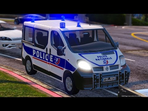 [GTA-LSPDFR] Renault Traffic | Police Nationale #52