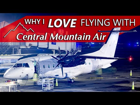 Why I Love Flying With CENTRAL MOUNTAIN AIR | Dornier 328 Edmonton To Calgary
