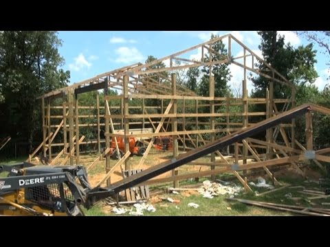 Shop Update, Rental Equipment, And Setting Trusses