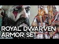 ROYAL DWARVEN ARMOR IN GOD OF WAR 4! Gameplay Walkthrough Part 50!! (PS4 PRO 60FPS)