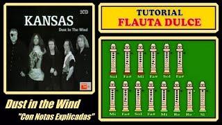 Dust in the Wind en Flauta Dulce