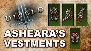 Diablo 3 Reaper of Souls: ASHEARA'S VESTMENTS SET Legendary Crafting & Farming Guide