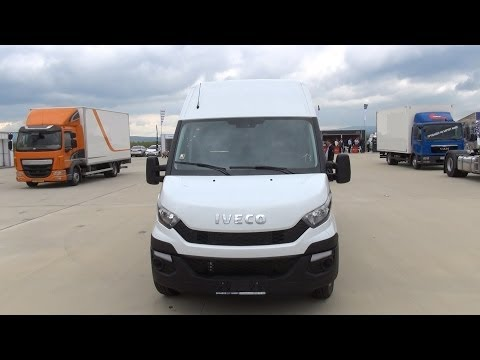 Iveco New Daily 35-170 Van (2014) Exterior and Interior in 3D 4K UHD