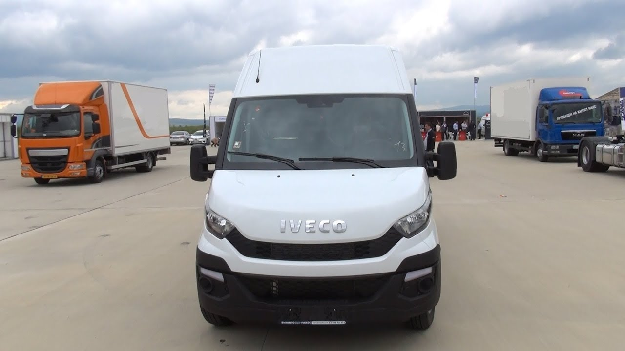 iveco new daily 35 170 van 2014 exterior and interior in 3d 4k uhd youtube