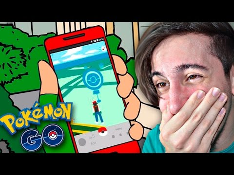 ASH JUEGA POKEMON GO! - Video Reacción