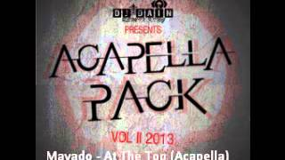 Mavado   At The Top Acapella)