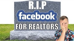 THE DEATH of Facebook Ads For Realtors