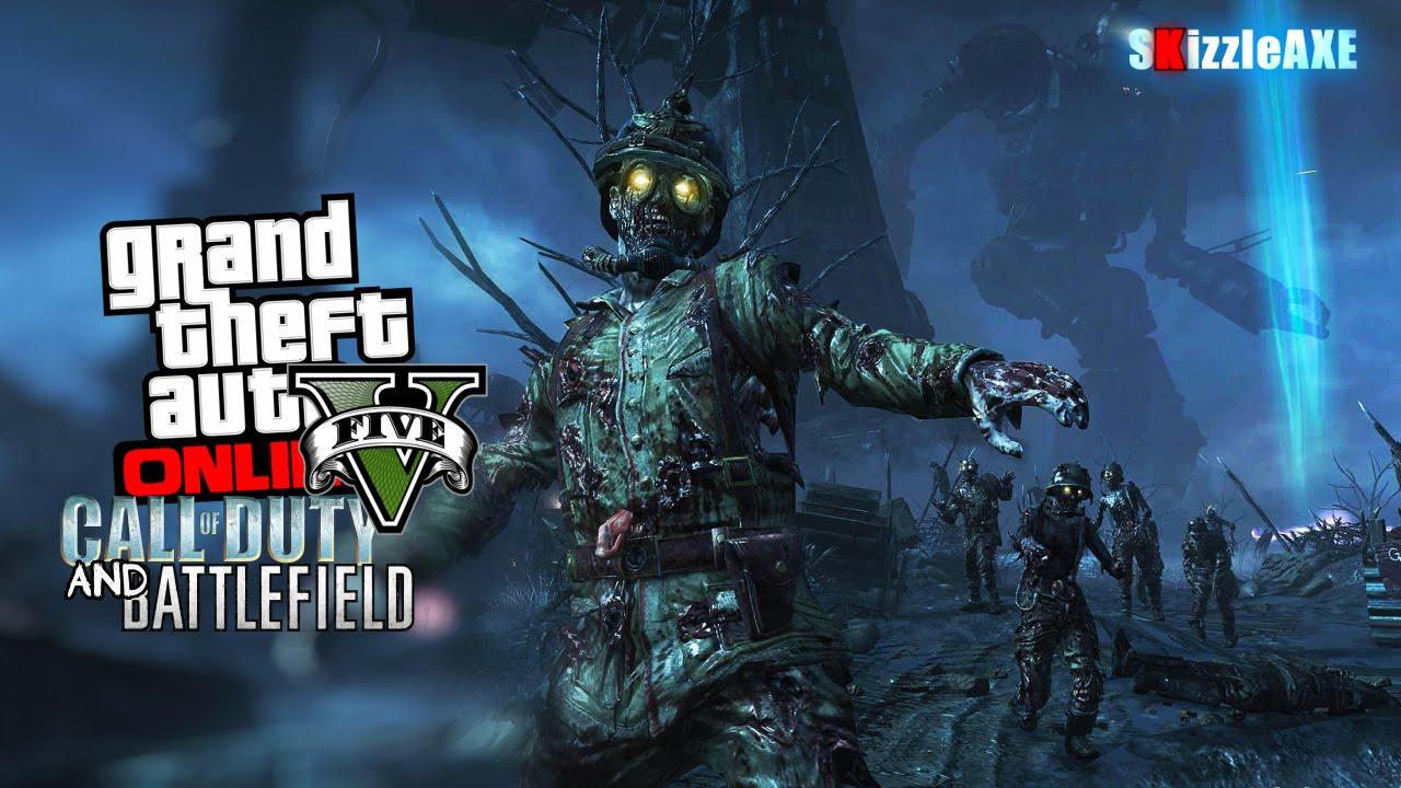 Need Ideas Black Ops 2 Zombies Gta 5 Advanced Warfare
