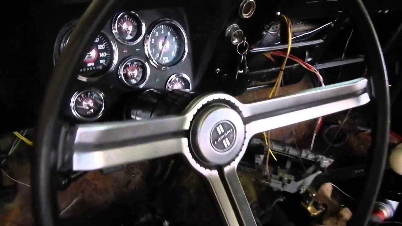 maxresdefault matts camaro running after new wire harness and ignition youtube