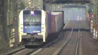 WLB Taurus, BR155, BR140, BR185, 2x BR143 und Straßenbahnen Bonn Villich - Müldorf