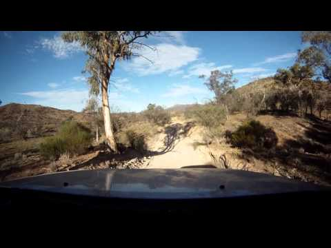 Australia 2013 - backcountry dash-cam view