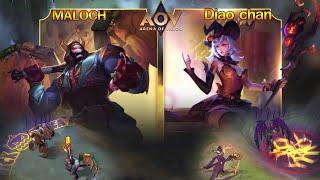 Rov : สกินใหม่ Halloween Maloch & Diao Chan ของแรร์