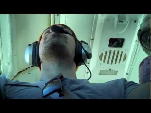 Ace flies a plane!  The Flight Plan  Ace Marrero
