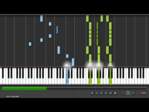 [ SHEET MUSIC and Tutorial ] ' Numb ' by Linkin Park for Solo Piano in Synthesia